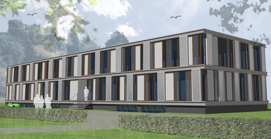 Energieneutrale renovatie kantoor Bilthoven